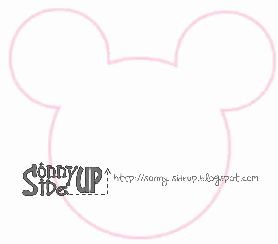 Mickey Mouse Head Invitation Template Elegant sonny Side Up Josiah S Mickey Mouse Party Invitations