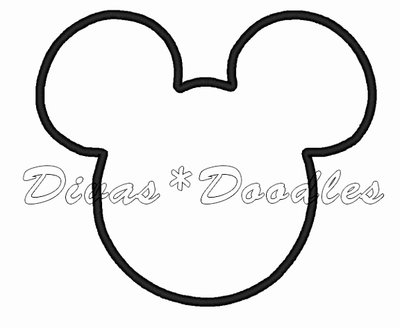 Mickey Mouse Head Invitation Template Inspirational 5 Mickey Mouse Head Template for Invitations Urtei