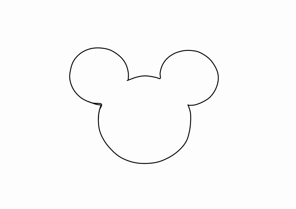 Mickey Mouse Head Invitation Template Luxury Free Mickey Mouse Template Download Free Clip Art Free
