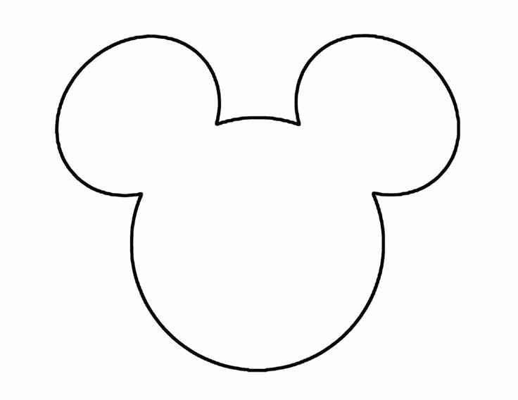 Mickey Mouse Head Invitation Template Unique Mickey Mouse Head Template
