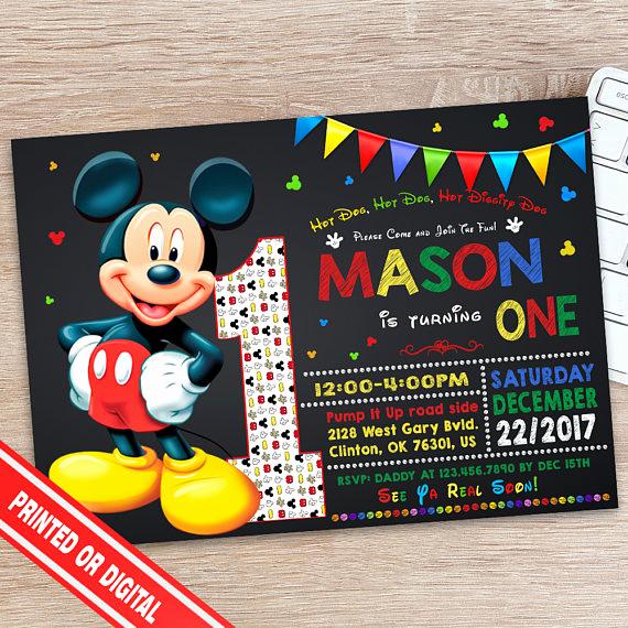 Mickey Mouse Invitation Ideas Inspirational 40 Mickey Mouse Party Ideas Mickey S Clubhouse Pretty