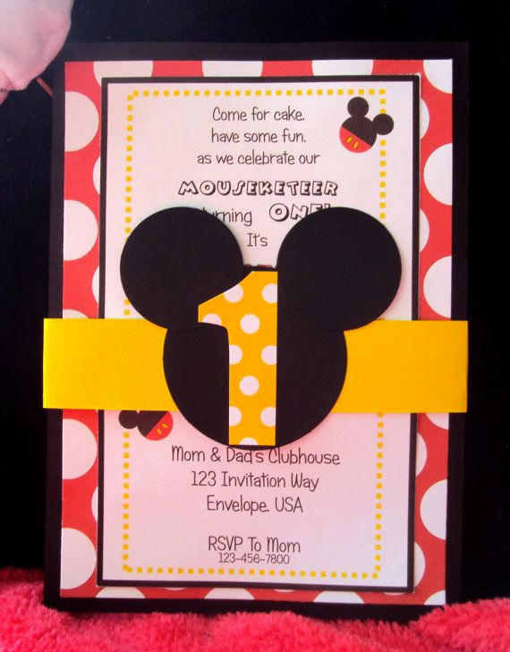 Mickey Mouse Invitation Ideas Lovely 25 Best Ideas About Mickey Invitations On Pinterest