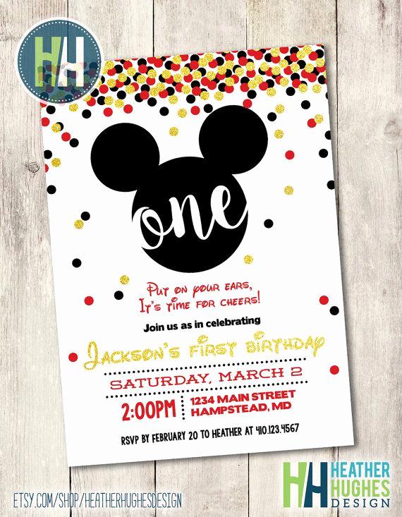 Mickey Mouse Invitation Ideas Luxury 25 Unique Mickey Mouse Invitation Ideas On Pinterest
