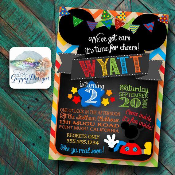 Mickey Mouse Invitation Ideas New 25 Best Ideas About Mickey Mouse Clubhouse Invitations On