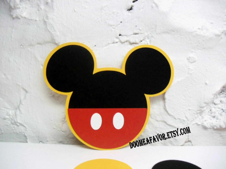 Mickey Mouse Invitation Maker Inspirational Mickey Mouse Pocket Invitation Diy Kit by Doomeafavor On Etsy
