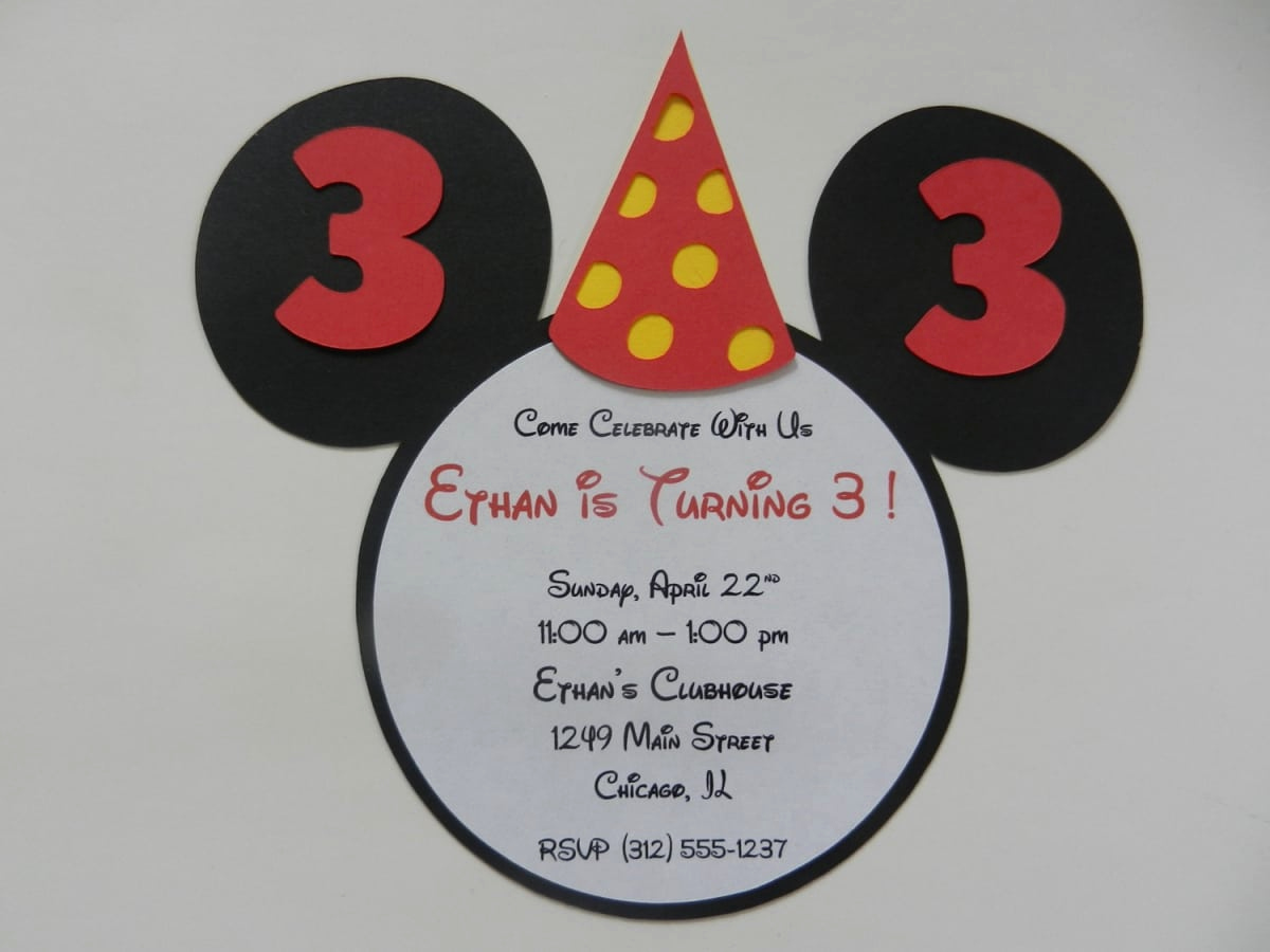 Mickey Mouse Invitation Wording Awesome Invitation Ideas Mickey Mouse