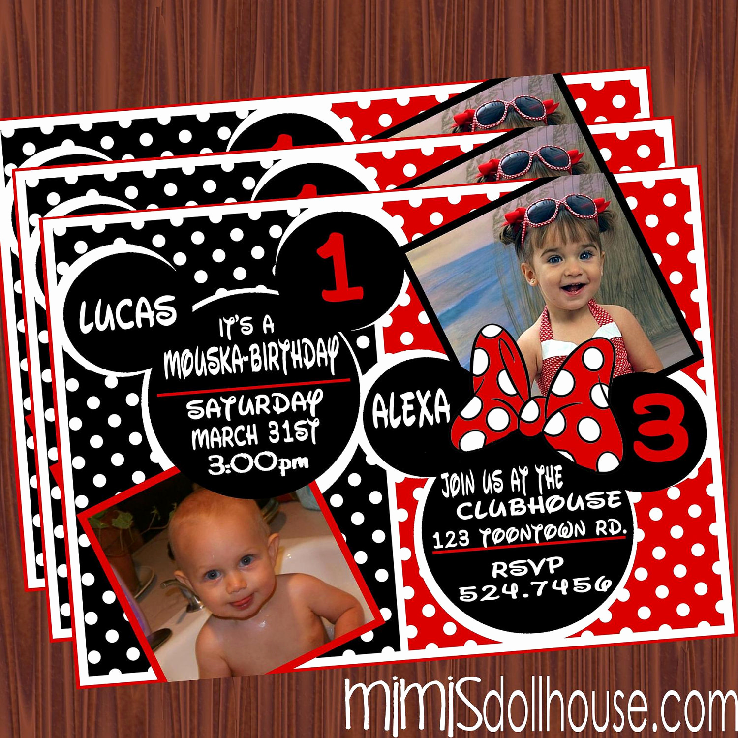 Mickey Mouse Invitation Wording Best Of Unavailable Listing On Etsy