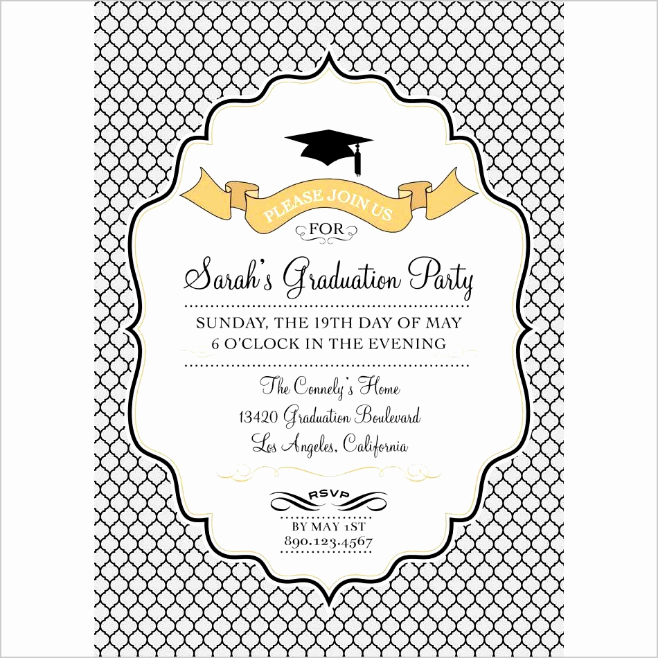 Microsoft Graduation Invitation Templates Fresh 11 Graduation Invitation Templates Microsoft Word