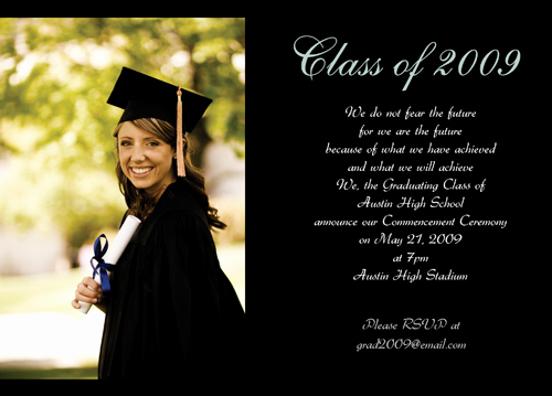 Microsoft Graduation Invitation Templates Inspirational Graduation Announcement Template