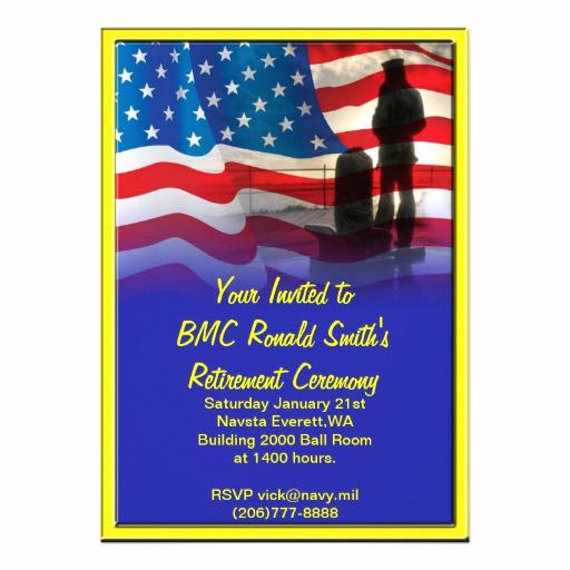 Military Retirement Invitation Templates Beautiful 227 Military Retirement Invitations Military Retirement