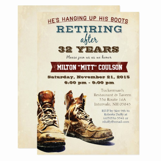Military Retirement Invitation Templates Fresh Retirement Construction Military Invitation