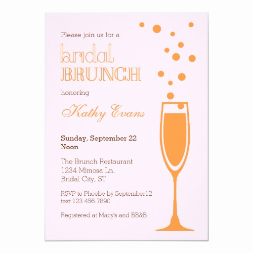 Mimosa Bridal Shower Invitation Awesome Mimosa Bridal Brunch Bridal Shower Invitation
