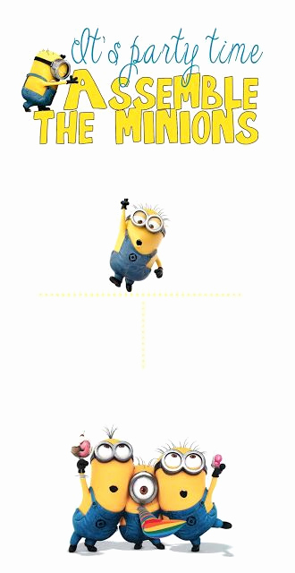 Minion Birthday Invitation Wording Lovely Minion Blank Invite Base Template