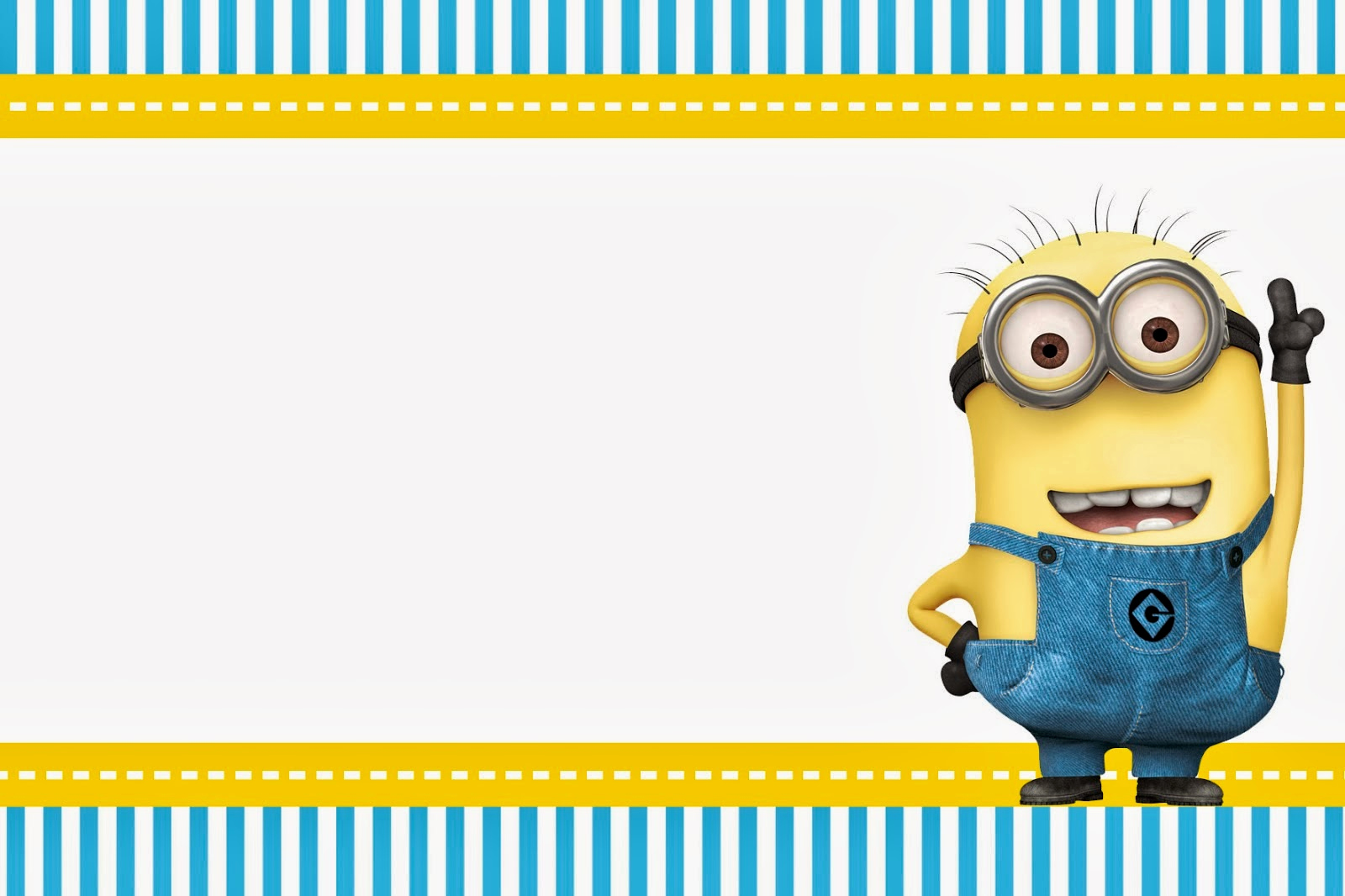 Minions Birthday Invitation Cards Awesome Despicable Me Invitations and Party Free Printables