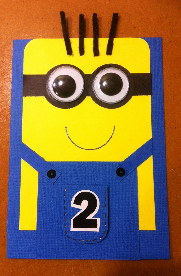 Minions Birthday Invitation Cards Unique Best 20 Minion Card Ideas On Pinterest