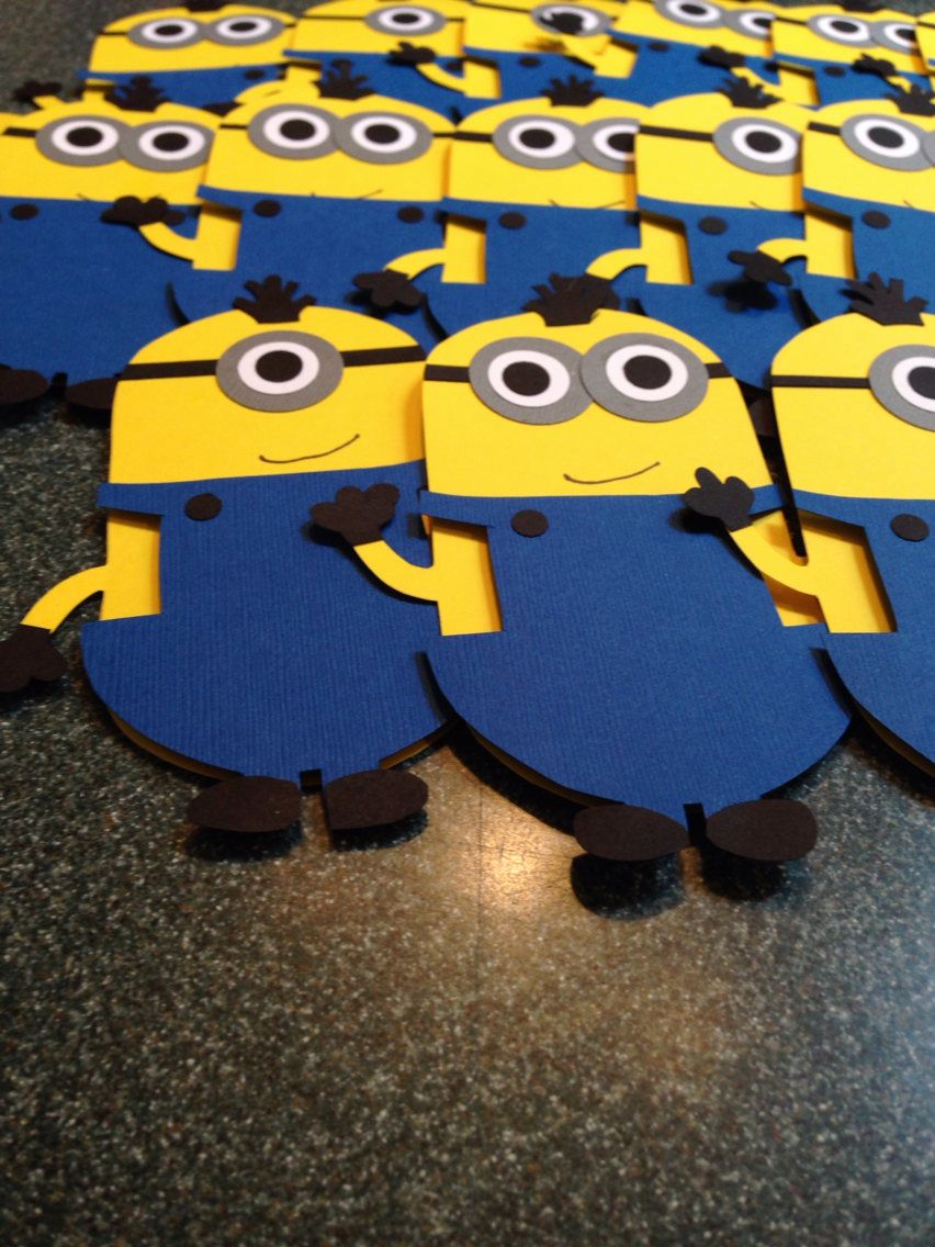 Minions Birthday Invitation Maker Beautiful Minion Despicable Me Invitations Custom by