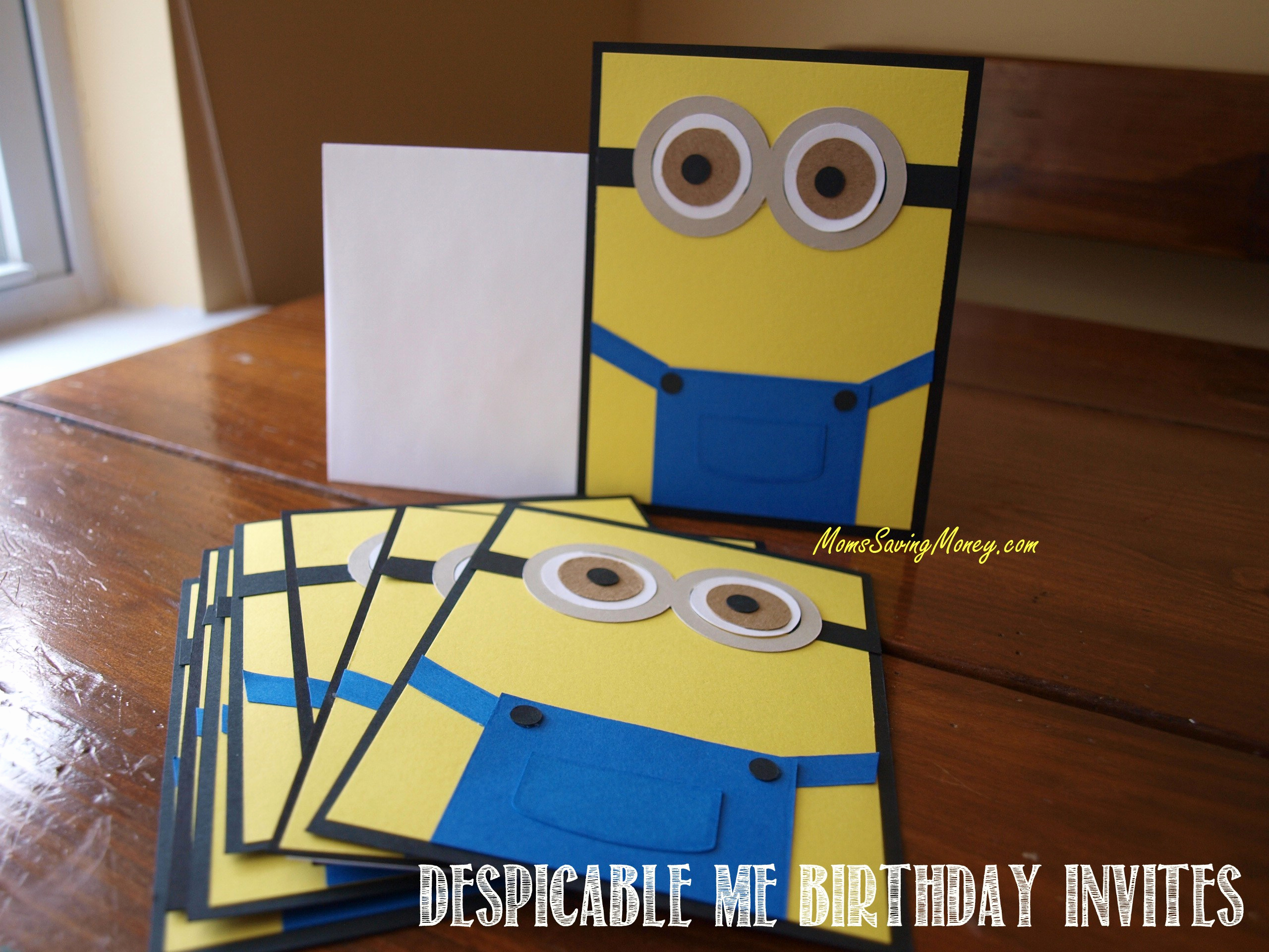 Minions Birthday Invitation Maker Best Of Despicable Me Birthday Party Rebecca Autry Creations