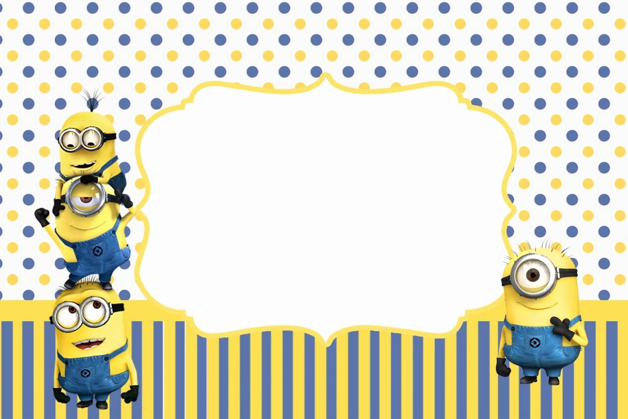 Minions Birthday Invitation Maker New This Can Be Printed Out to Make A Poster and Fill In the