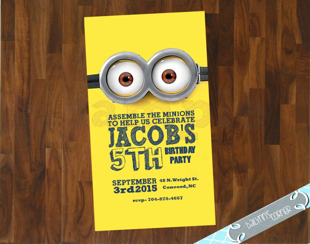 Minions Birthday Invitation Maker Unique the Ultimate Roundup Of Affordable Minion Birthday Party Ideas