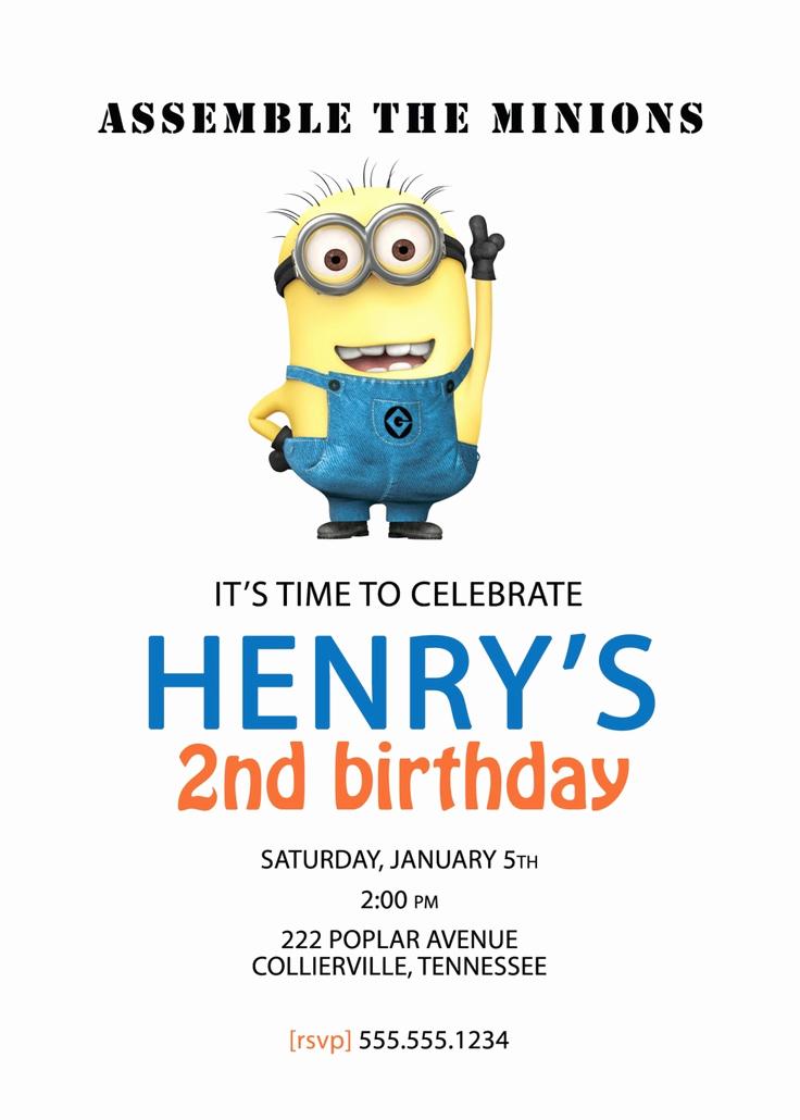 Minions Birthday Invitation Online Best Of Best 20 Minion Birthday Quotes Ideas On Pinterest