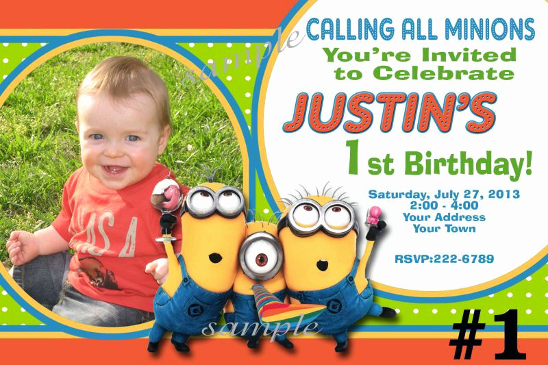 Minions Birthday Invitation Online Lovely Free Printable Minion Birthday Party Invitations Ideas