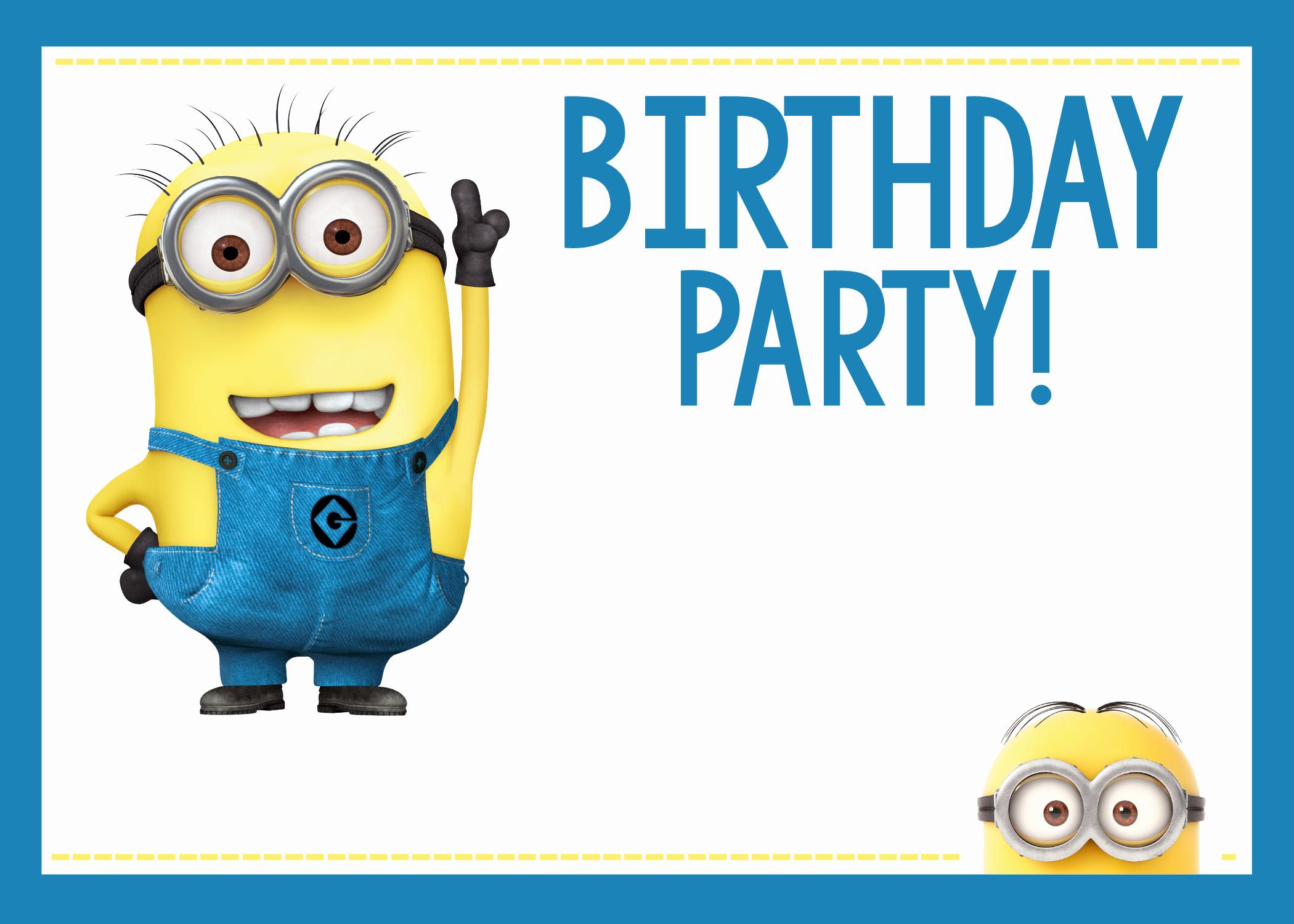 Minions Birthday Invitation Online New Fun Minion Party Ideas for A Birthday – Fun Squared