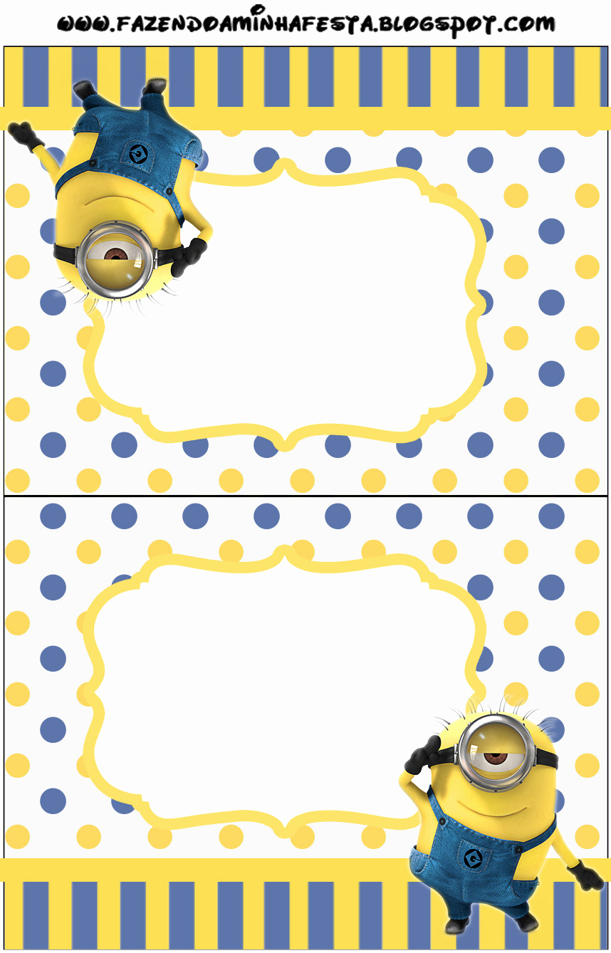 Minions Birthday Invitation Online New Inspired In Minions Party Invitations Free Printables