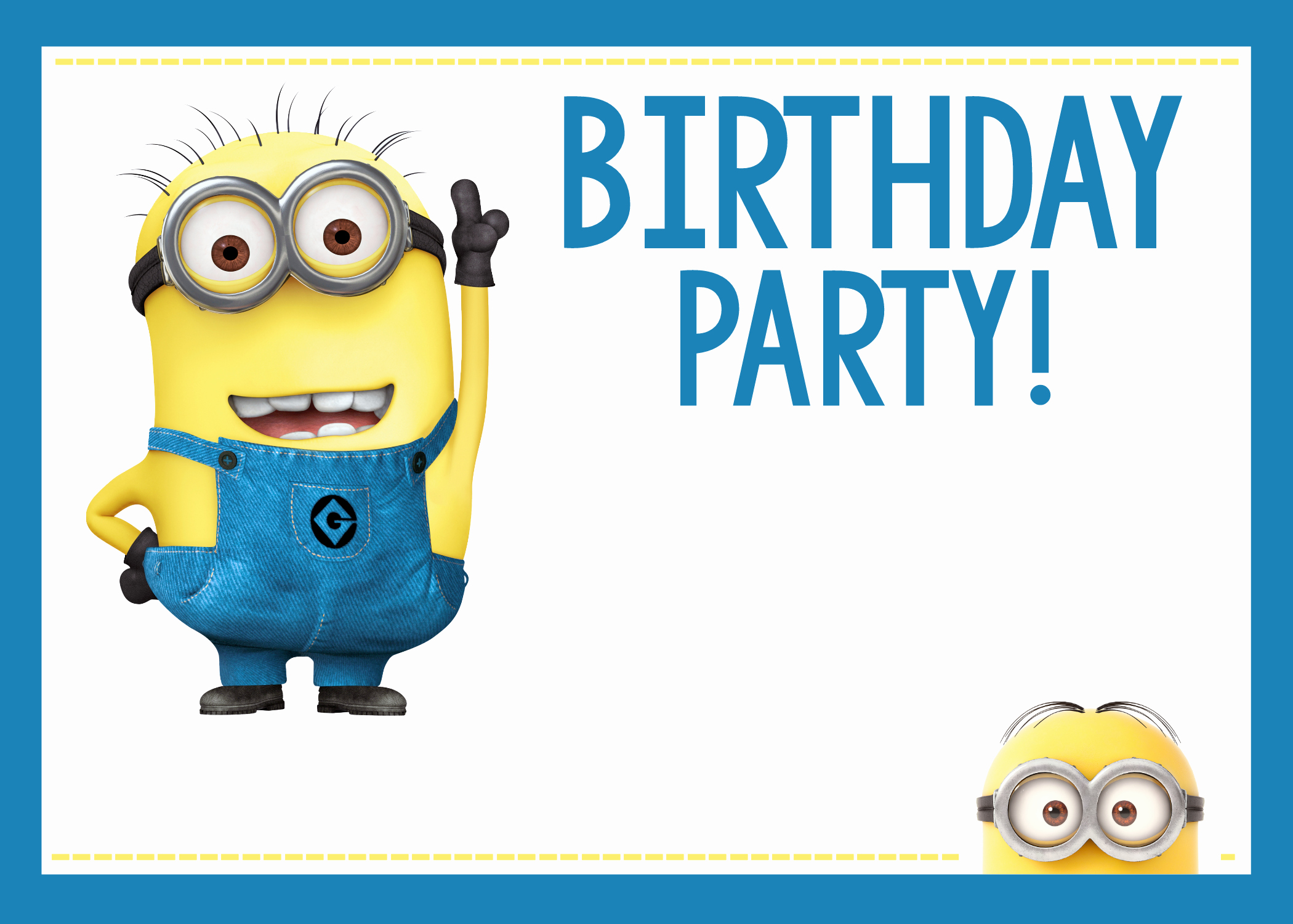 Minions Birthday Invitation Template Fresh Fun Minion Party Ideas for A Birthday – Fun Squared