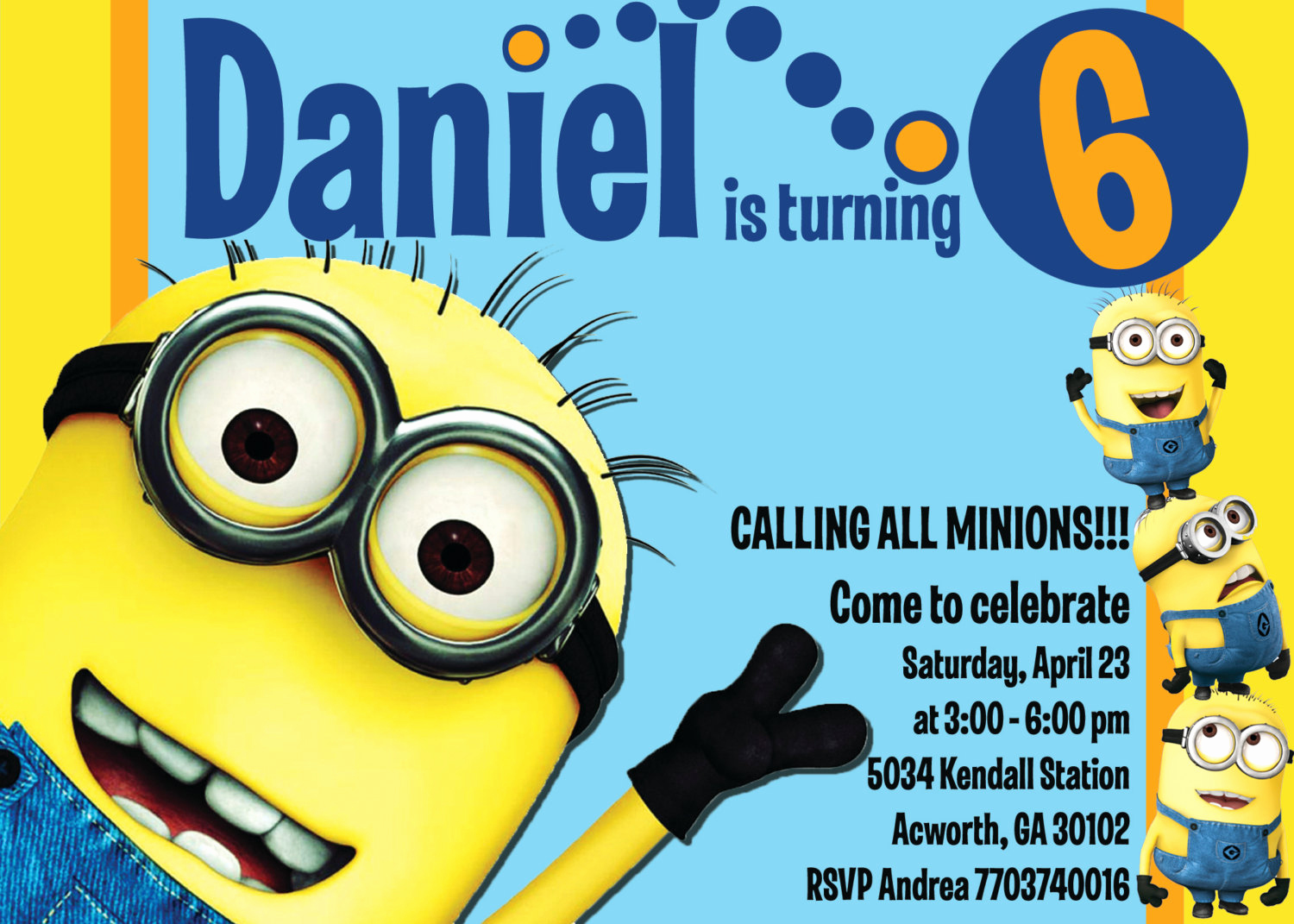 Minions Birthday Invitation Template Inspirational Minion Invitations Templates
