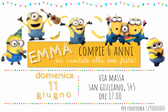 Minions Birthday Invitation Templates Lovely Minions Birthday Invitation Template
