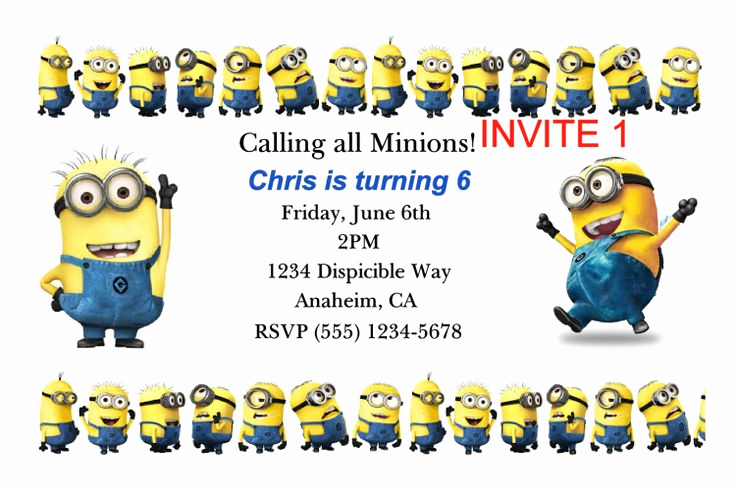 Minions Birthday Invitation Templates Unique 16 Best Minion Tattoos Images On Pinterest