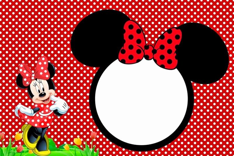 Minnie Mouse Birthday Invitation Template New Minnie Mouse Free Printable Invitation Templates