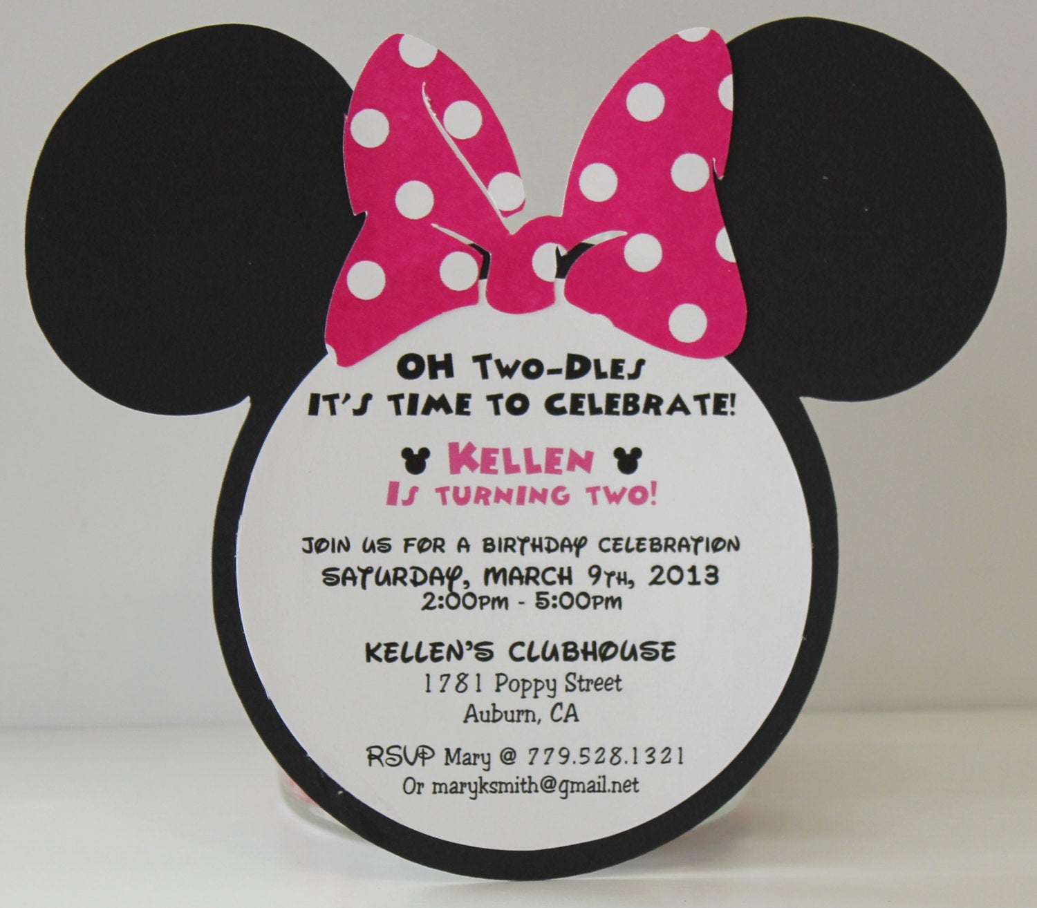 Minnie Mouse Birthday Invitation Wording Beautiful Minnie Mouse Birthday Invitations Invitation Pink Polka