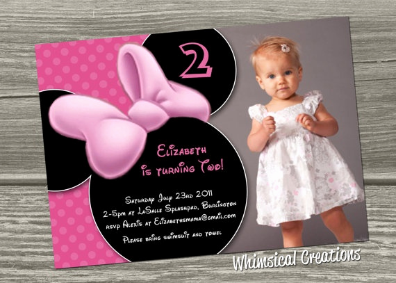 Minnie Mouse Birthday Invitation Wording Fresh Best 25 Minnie Mouse Birthday Invitations Ideas On Pinterest
