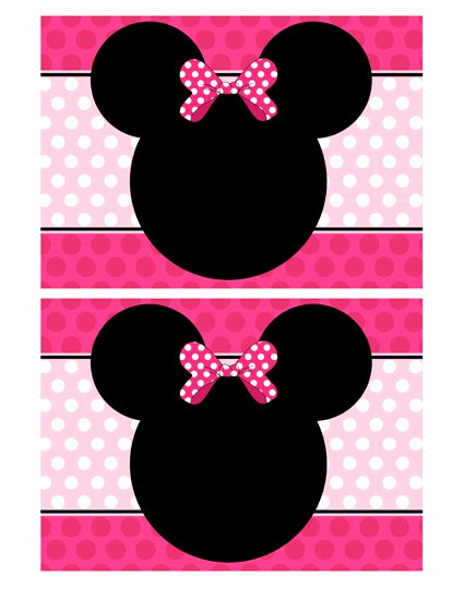 Minnie Mouse Blank Invitation Unique Minnie Mouse Invitation Templates Blank