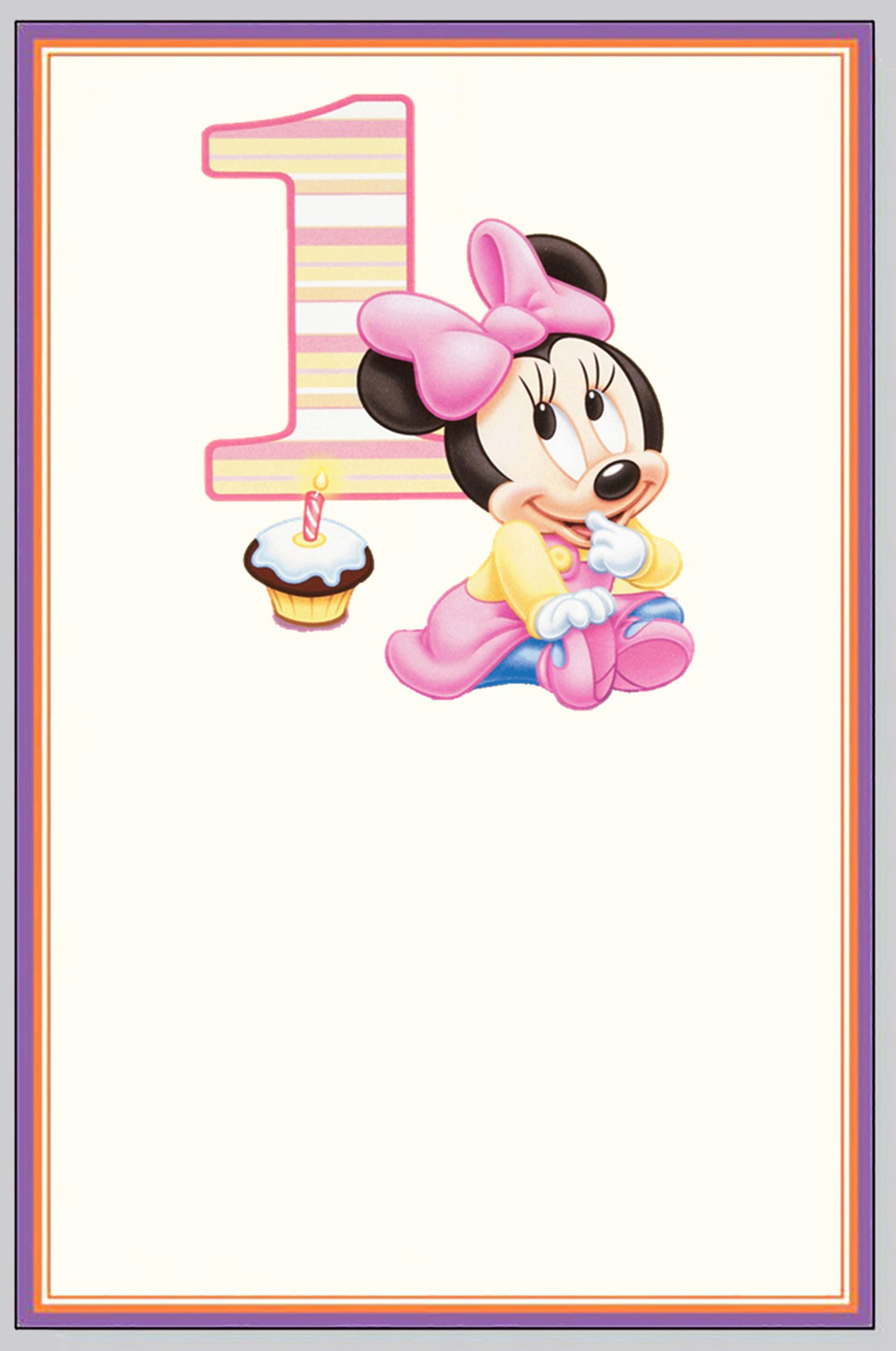 Minnie Mouse Invitation Card Elegant How You Can Make First Birthday Invitations Special