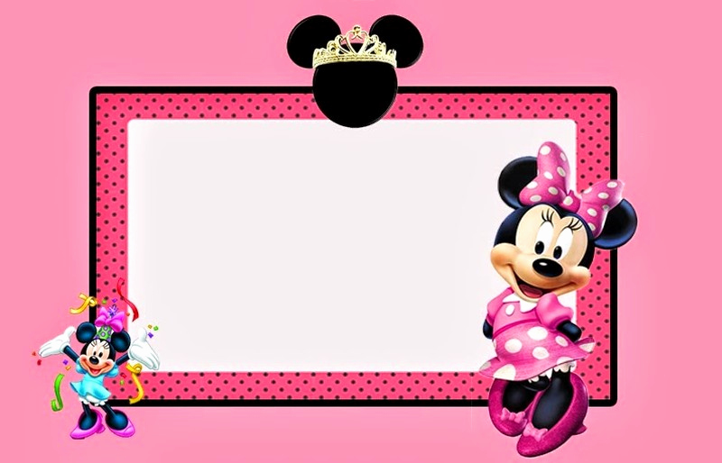 Minnie Mouse Invitation Card Fresh Minnie Mouse Free Printable Invitation Templates