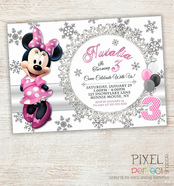Minnie Mouse Invitation Card Unique 69 Best Minnie Mouse Invitations & Printables Images On