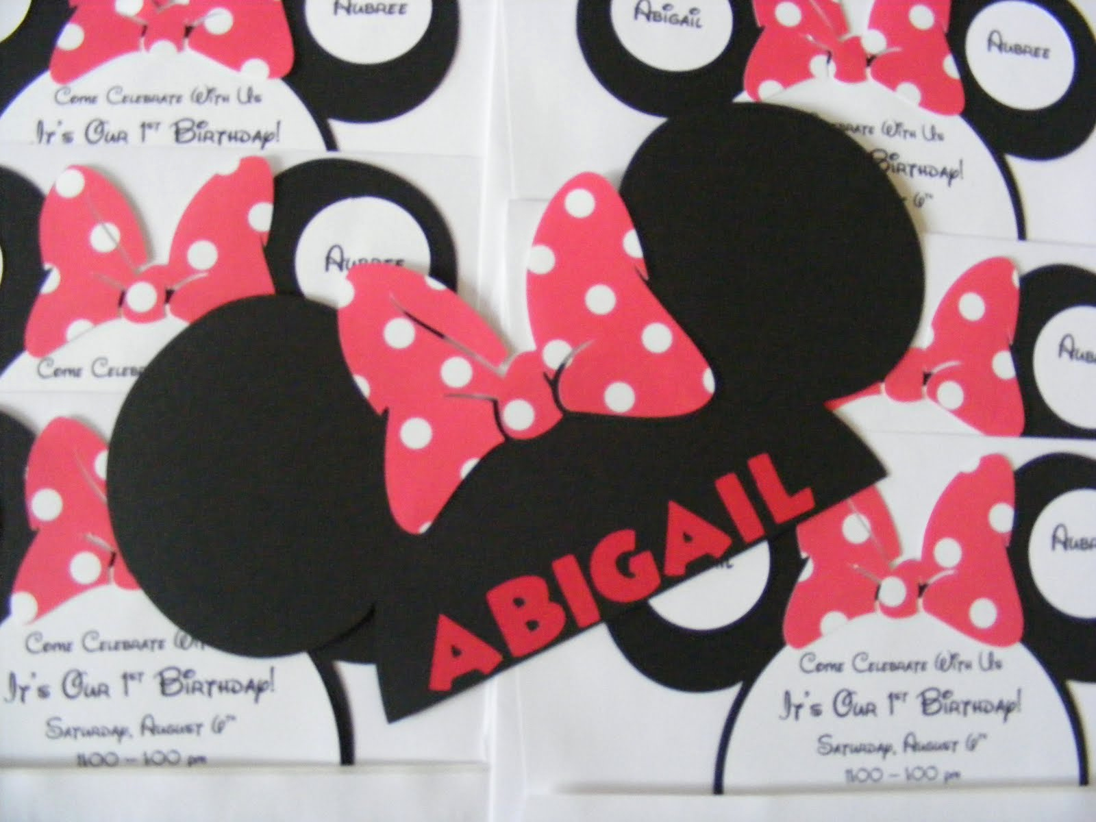 Minnie Mouse Invitation Ideas Awesome Whimsical Creations by Ann Minnie Mouse Party Ideas