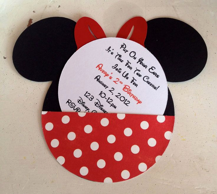 Minnie Mouse Invitation Ideas Lovely Best 25 Minnie Mouse Birthday Invitations Ideas On
