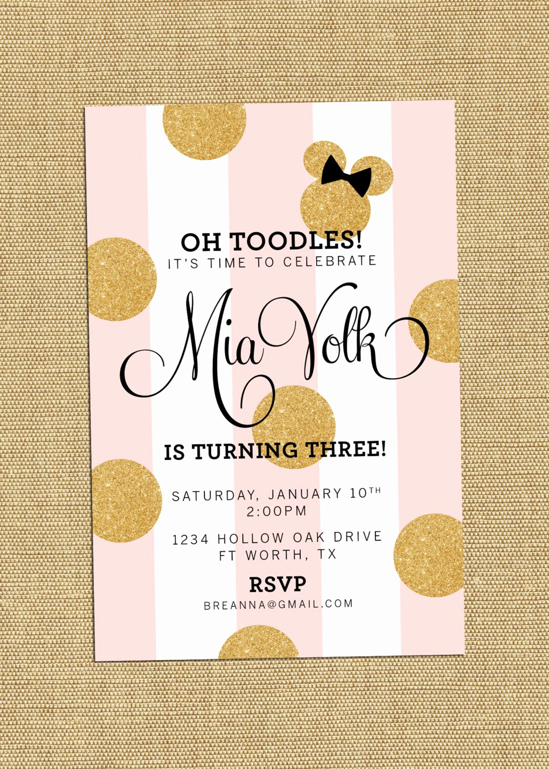 Minnie Mouse Invitation Ideas New Pin by Dana Young On Invitation S and Party Package S In