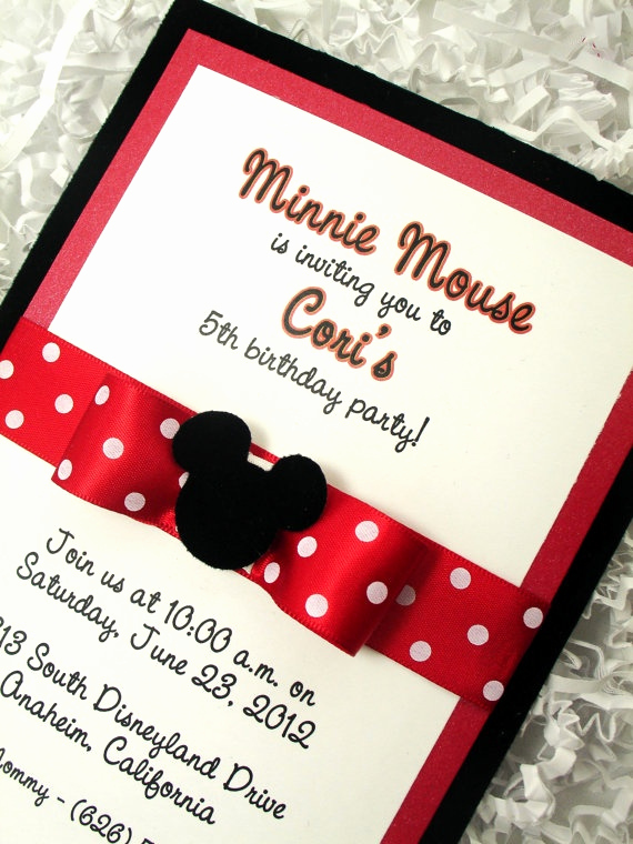 Minnie Mouse Invitation Maker Lovely 1000 Images About Festa Minie On Pinterest