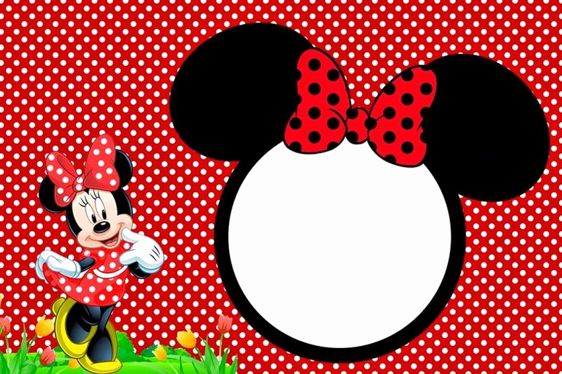 Minnie Mouse Invitation Template Free New Minnie Mouse Free Printable Invitation Templates