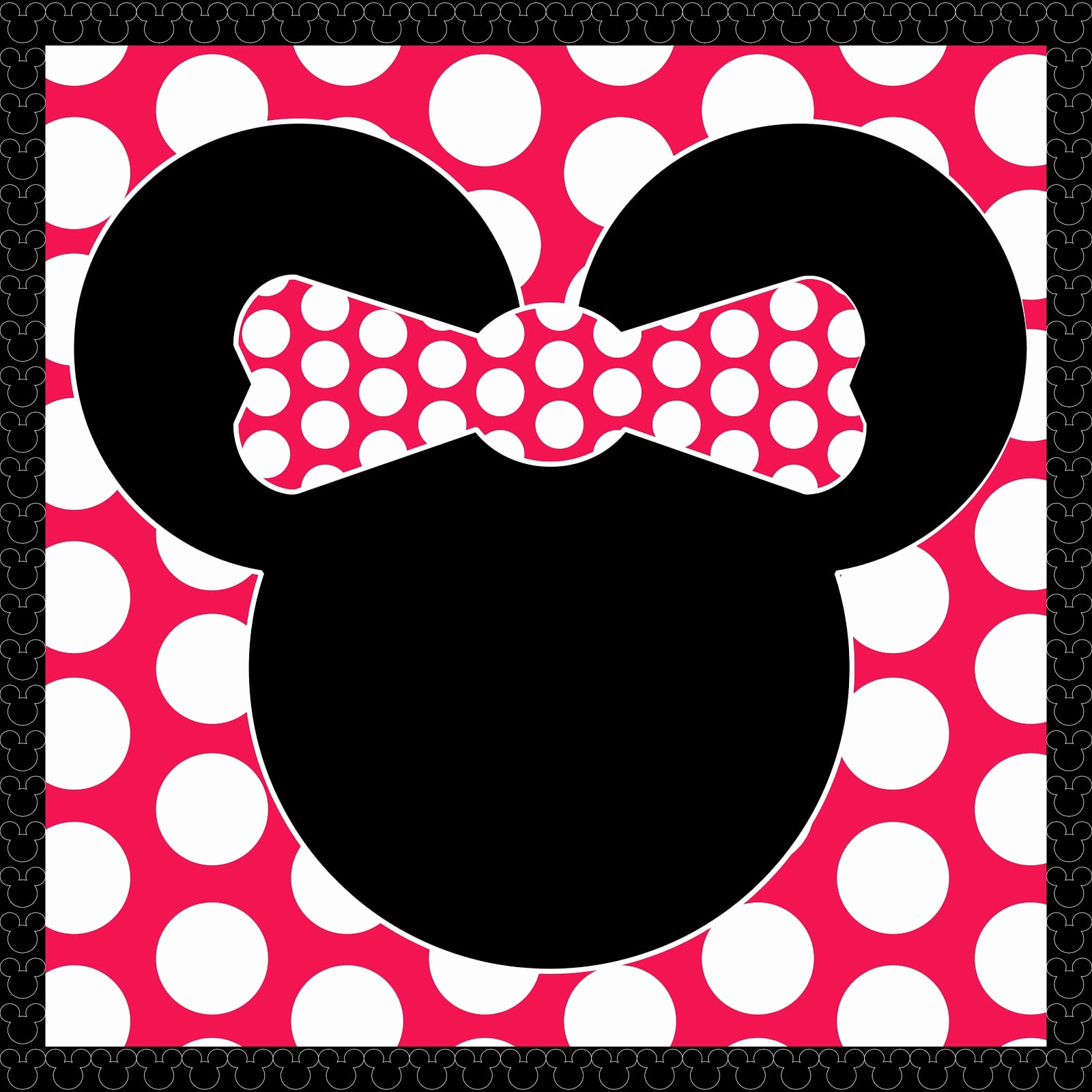 Minnie Mouse Invitation Template Fresh Minnie Mouse Invitation Printable Template