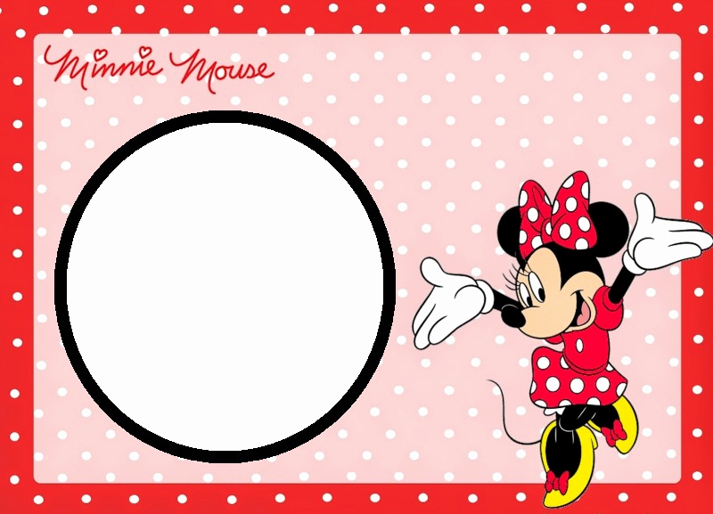 Minnie Mouse Invitation Template Online Fresh Minnie Mouse Free Printable Invitation Templates