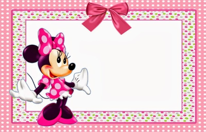 Minnie Mouse Invitation Template Online New Minnie Mouse Invitation Template