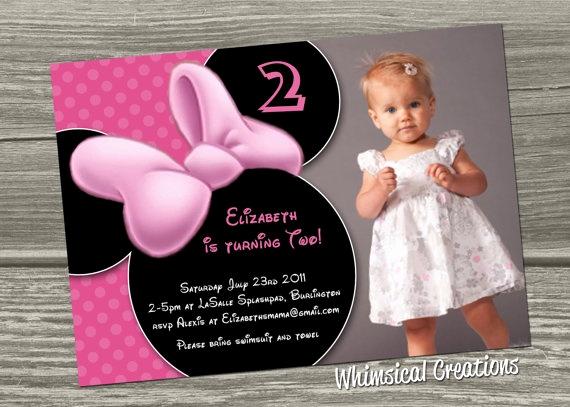 Minnie Mouse Invitation Wording Fresh Best 25 Minnie Mouse Birthday Invitations Ideas On Pinterest