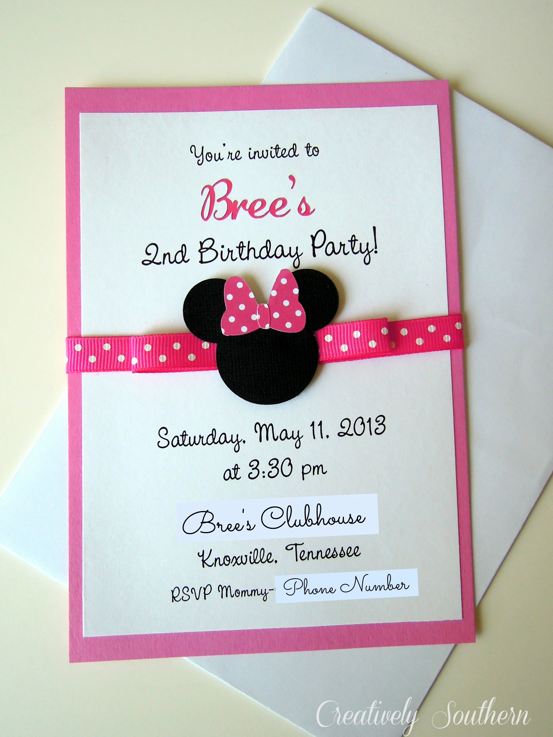 Minnie Mouse Invitation Wording Inspirational Minnie Mouse Birthday and Paper Mache