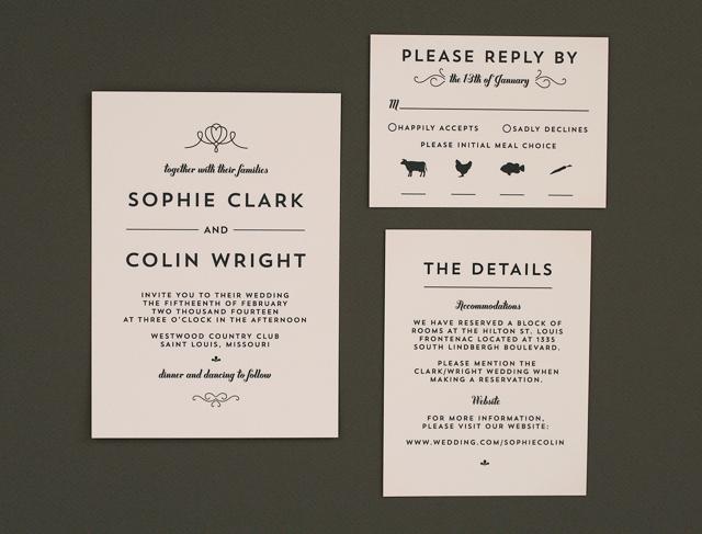 Modern Wedding Invitation Wording Inspirational Crafty Pie Press Modern & Vintage Wedding Invitations