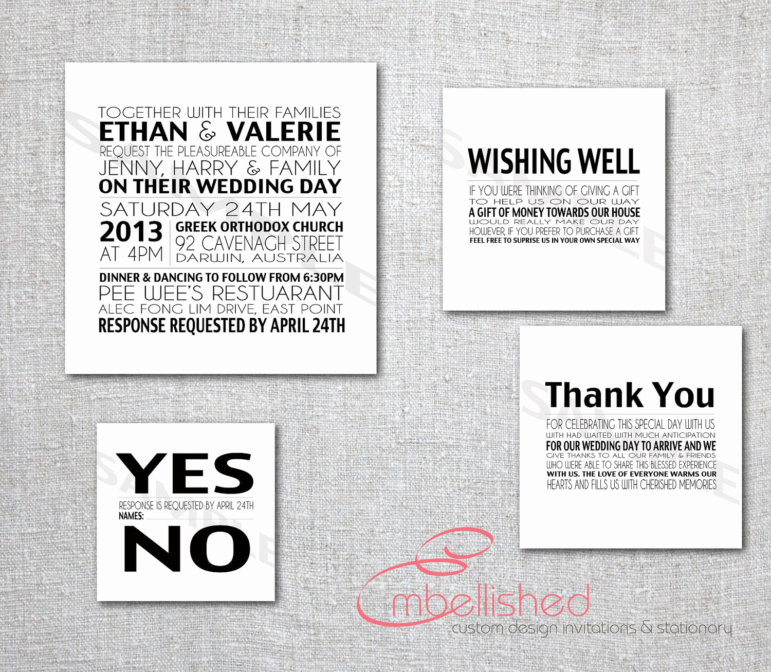 Modern Wedding Invitation Wording Unique Modern Wedding Invitation Printable New York by